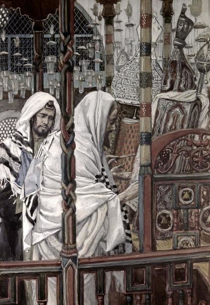 James Tissot  Jesus Teaching In The Synagogue  Art Print  Global Gallery
