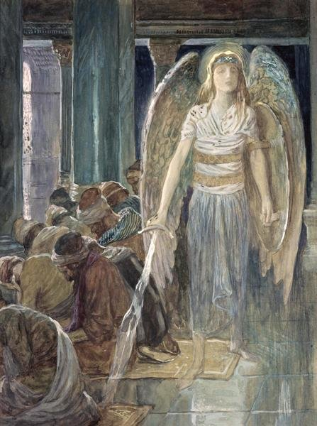western kitchen decor sprayer hose james tissot - the guardian angel art print global gallery