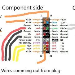 Fujitsu Wiring Diagram Motor Run Capacitor Custom Pico Psu Power Supply Installation Dreamcast Saturn Mod