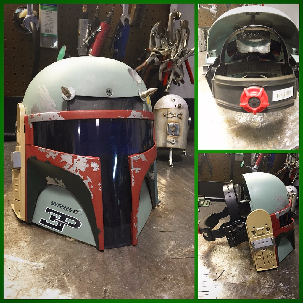 This Boba Fett Welding Mask is Amazing!