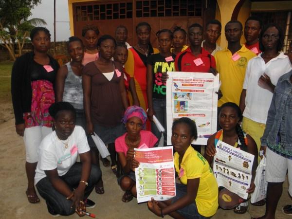 Community Education Ebola Liberia - Globalgiving