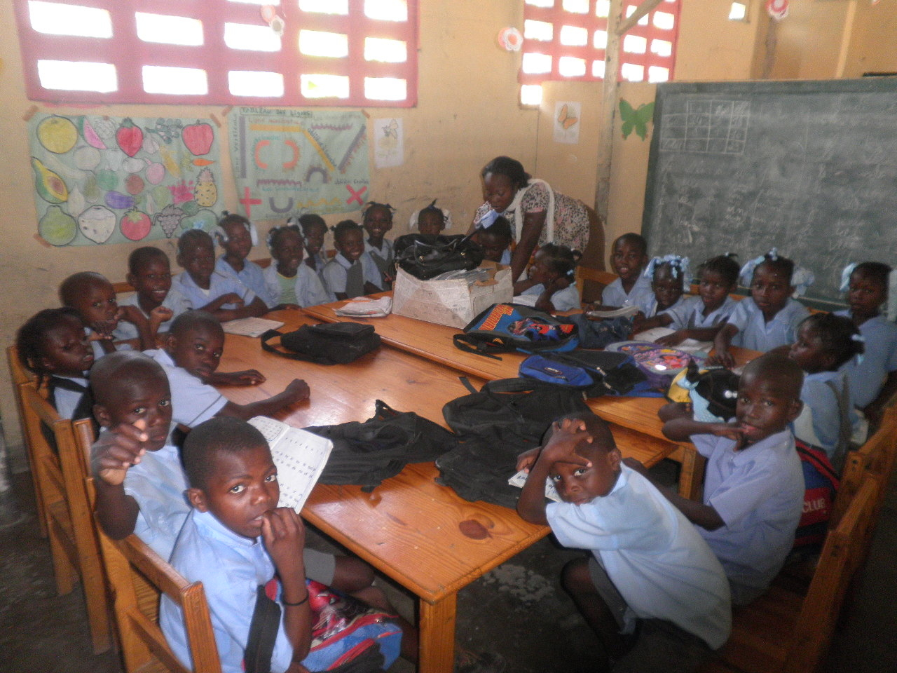 Reports On Support Education In Haiti With Books For