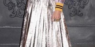 Gucci Metallic Skirt