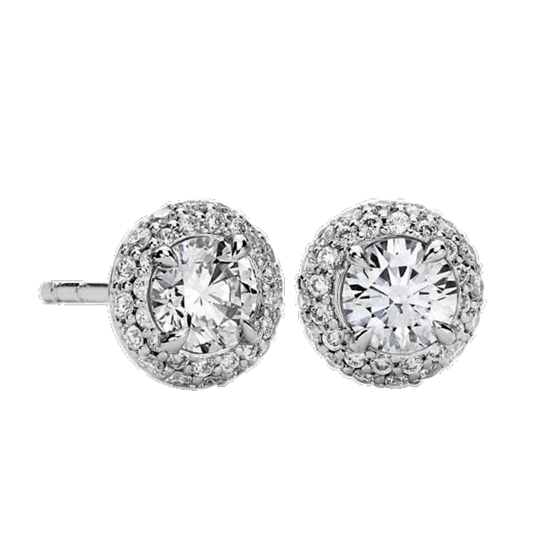 Tulcy Double Halo Earrings