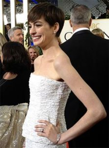 Anne Hathaway: The Academy Award-winning actress has become known for choosing vegan shoes for events and photo shoots.