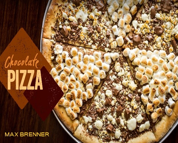 Chocolate Pizza, Max Brenner, Best Dessert Bars In New York