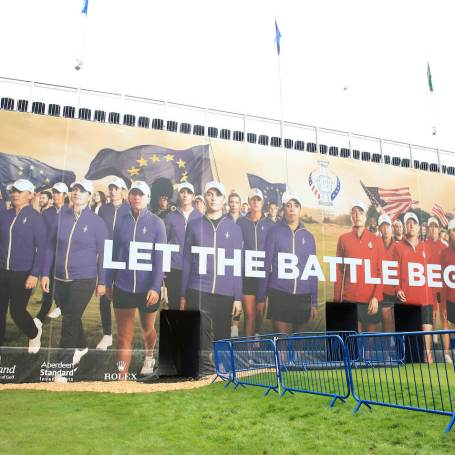 Players Eager For First Tee At Solheim Cup