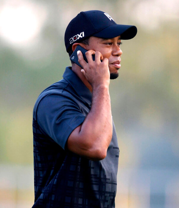 TIger Woods phone call