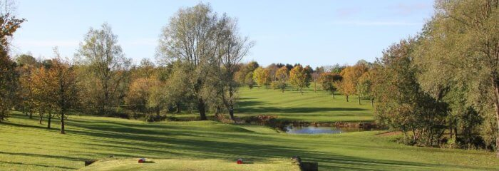 Abbotsley Golf and Squash Club before damage