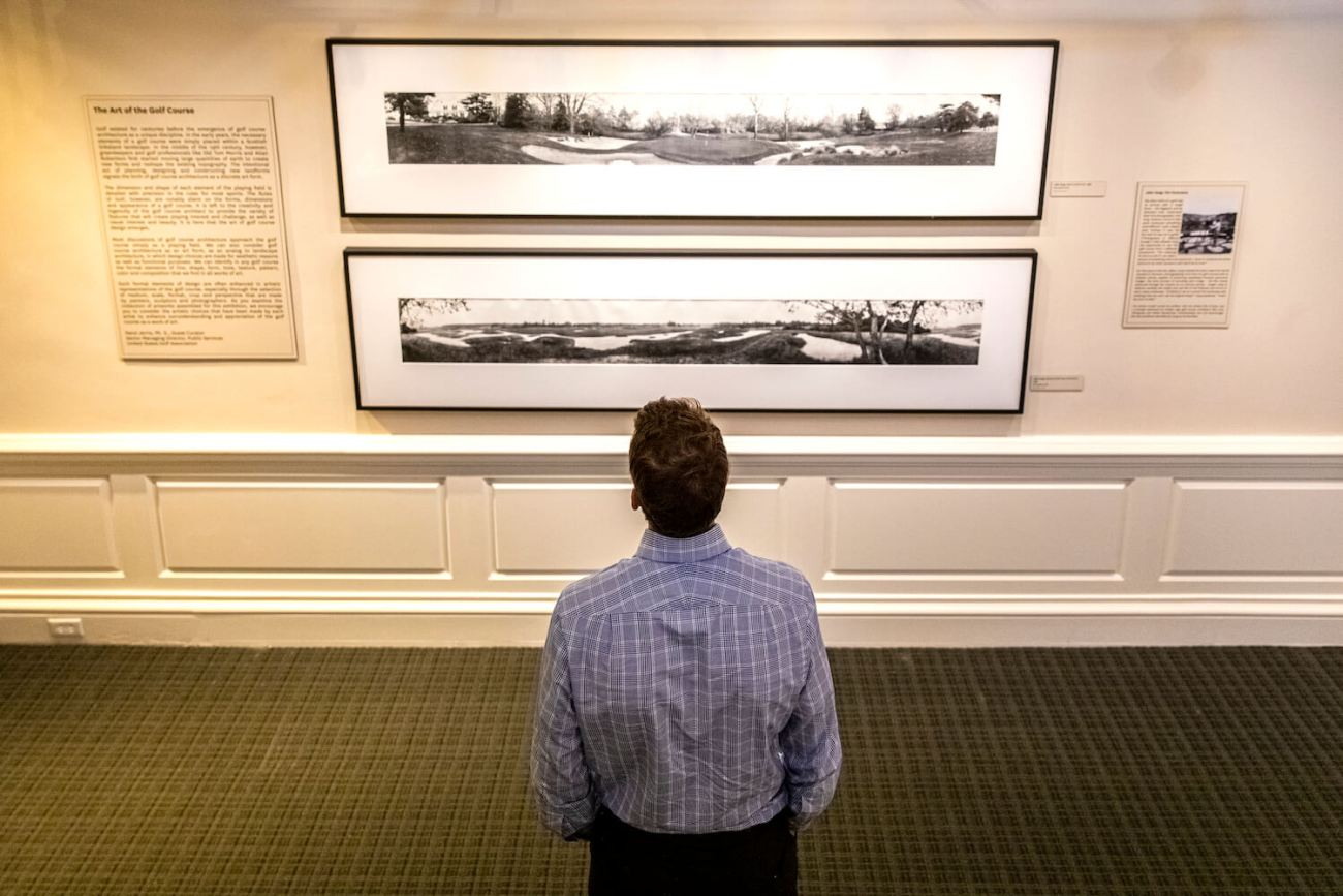 Museum Exhibition Showcases Golf Course As Art Form
