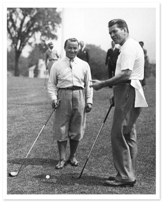 Gene Serazen Gene Tunney Brooklawn Country Club