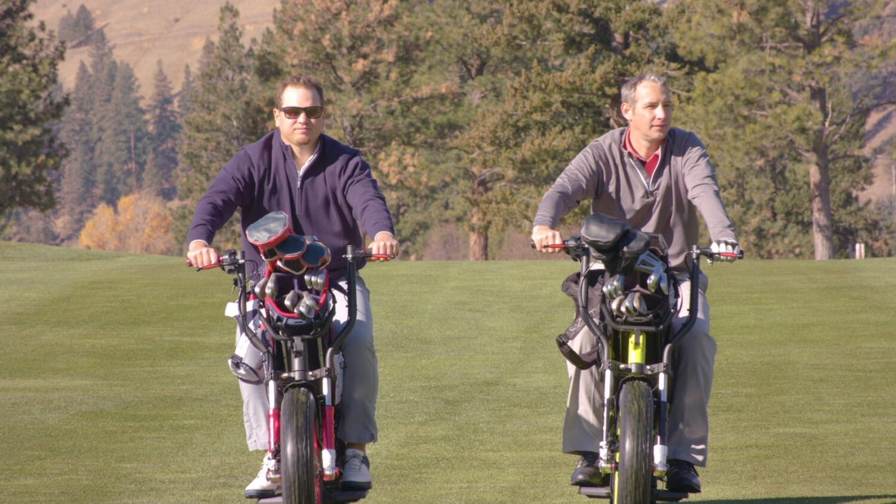 Finn Cycles Provide Golfers A Leisurely Two-Wheel Ride
