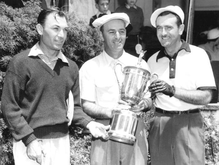 Ben Hogan, George Fazio, Lloyd Mangrum