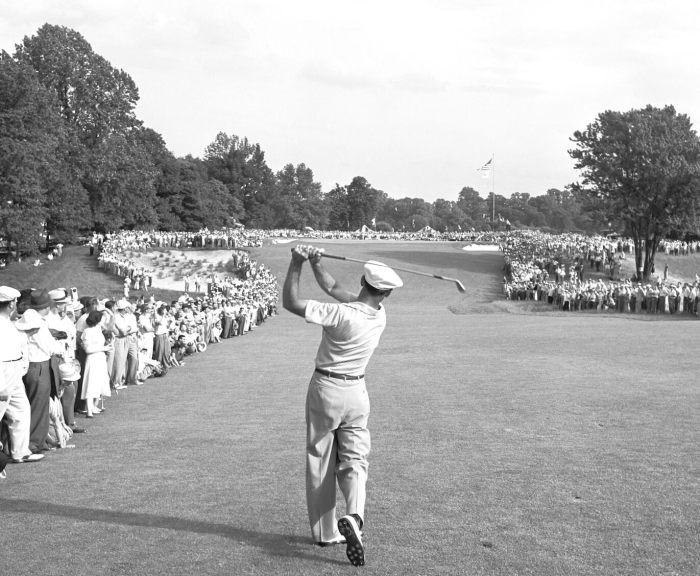 Ben Hogan's 1-iron approach
