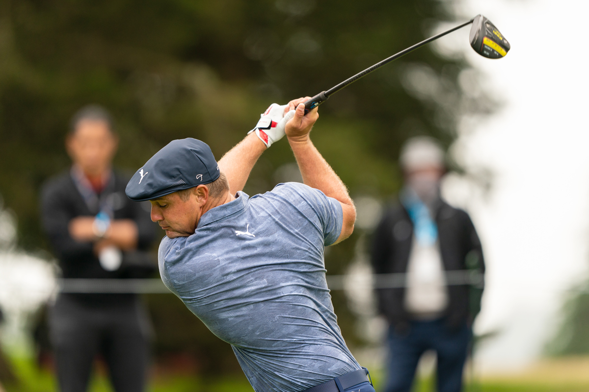 Bryson DeChambeau during the 2020 PGA Championship