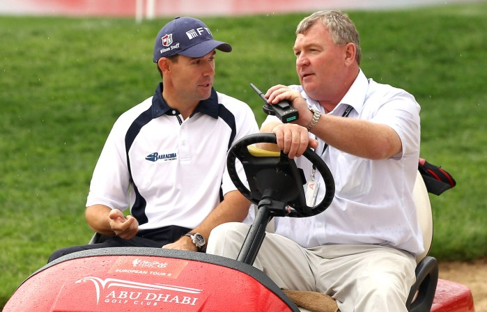 Padraig Harrington, Andy McFee