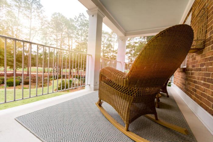Dornoch Cottage balcony