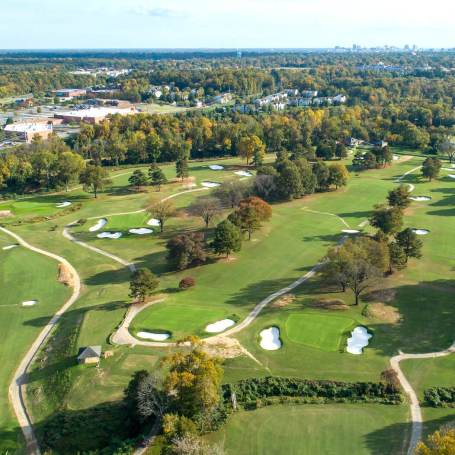 American Golf History Meets Its Future At Belmont