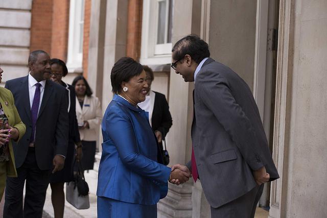 Welcome to Rt Hon Patricia Scotland QC, Commonwealth Secretary-General
