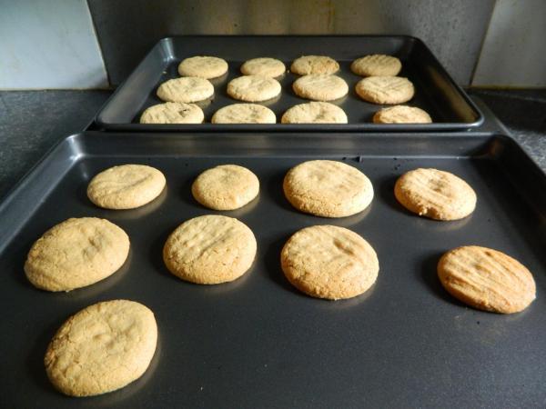 My peanut butter cookies - Jmorton