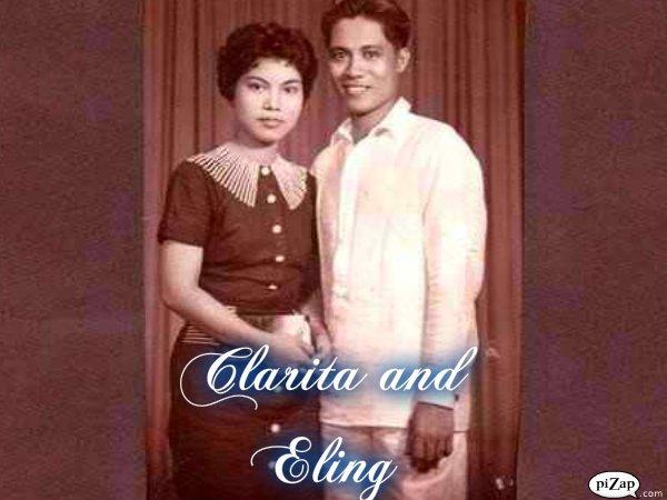 Clarita & Eligio Wamil, 1950's