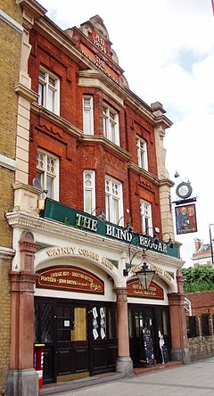he Blind Beggar Pub Whitechapel London E1