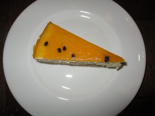 Passion Fruit Cheese Cake, photo by JMorton