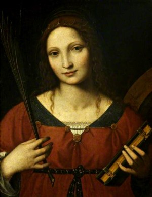 Bernardino Luini - Saint Catherine