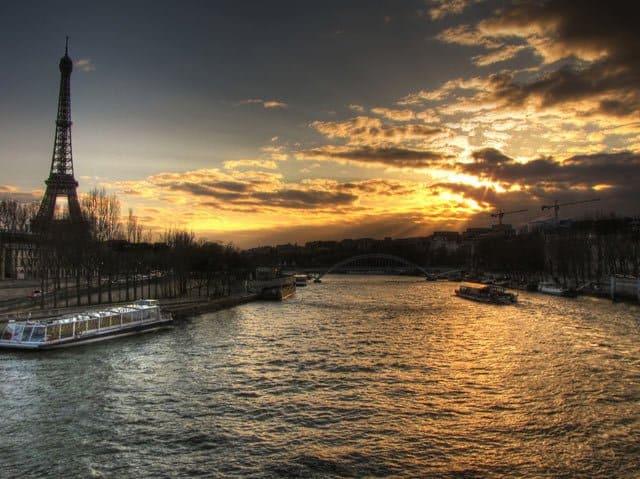 Paris from Pont de l'Alma