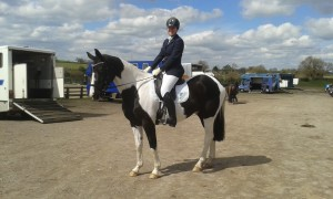 Bailey 2nd dressage outing