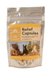 Relief 60 Large Capsules Front