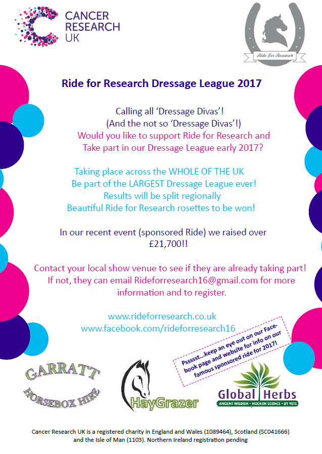 ride-for-research-dressage-league-2017-calling-show-venues