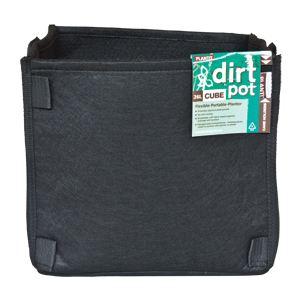 square base dirt pot 26l