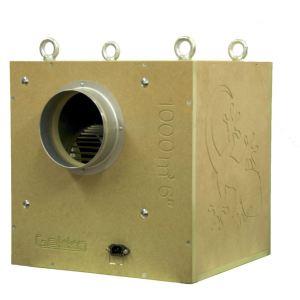 """Gekko Acoustic Box Fan 152mm (6"""") 1500m3/HR"""
