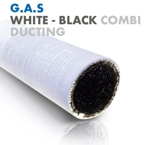 White combi ducting 5m
