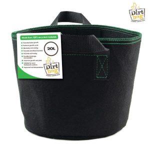 dirt bag fabric pot