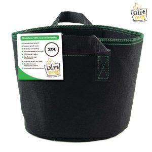 dirt bag fabric pot