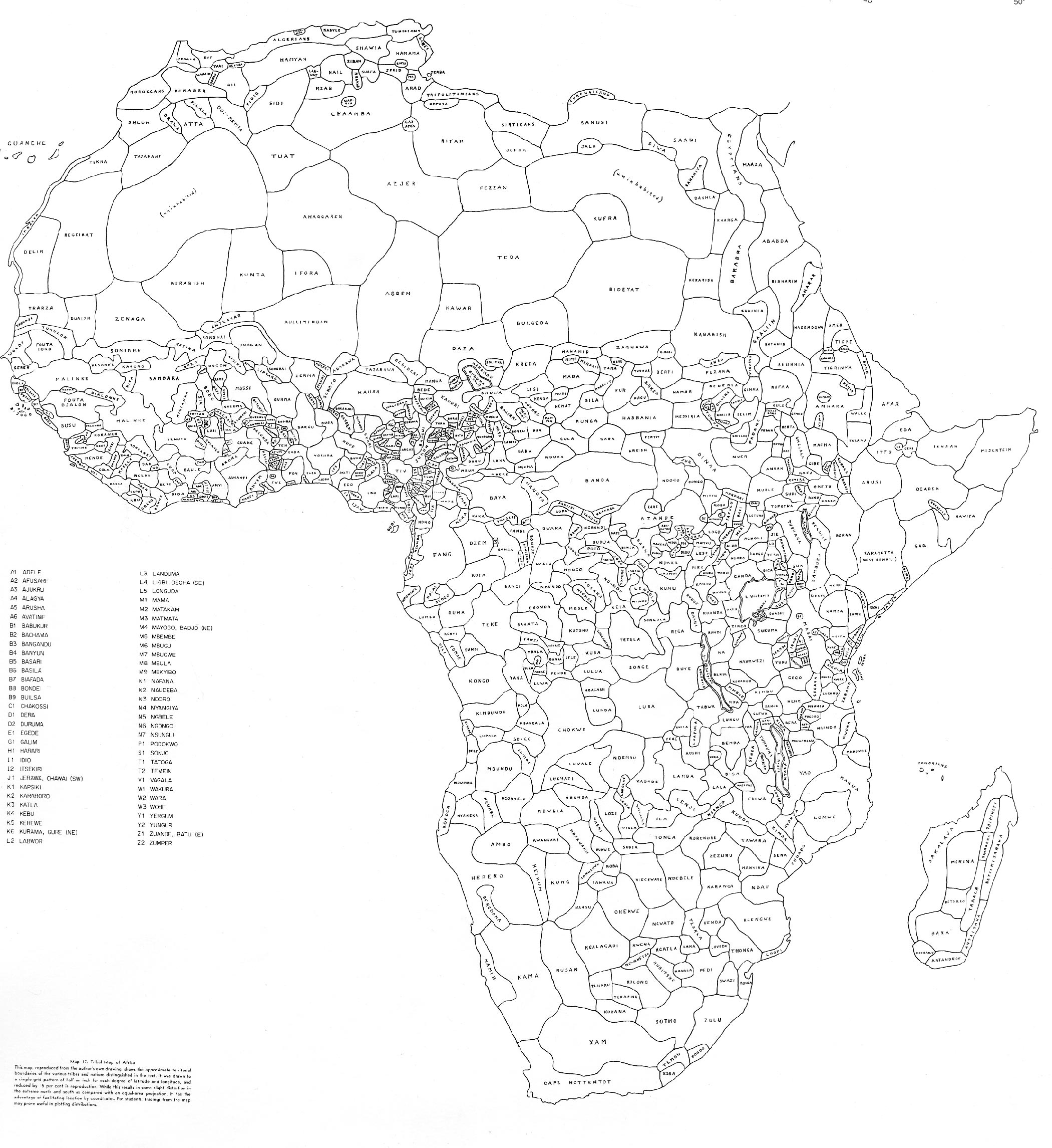 What Africa actually looked like in terms of tribal