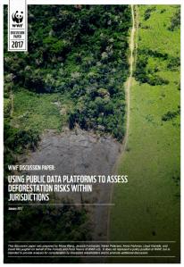 WWF-US Jurisdictional Risk Assessment Report
