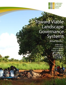 Toward viable landscape governance systems: what works?