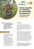 Gender equality as a pathway for sustainable development: Lessons learned in Eastern and Southern Africa
