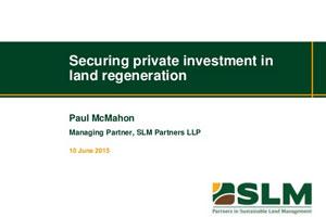Title presentation slide - Finance