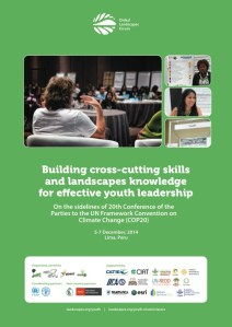 Building cross-cutting skills and landscapes knowledge for effective youth leadership
