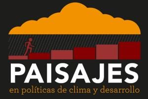 Infographic in Spanish: Paisajes en políticas de clima y desarrollo