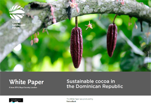 Sustainable cocoa in the Dominican Republic