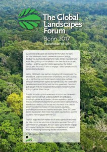 2017 Global Landscapes Forum: Scaling Up Concept Note