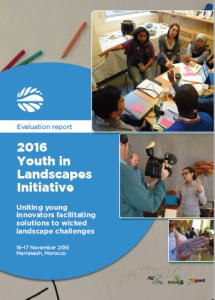 Evaluation report: 2016 Youth in Landscapes Initiative