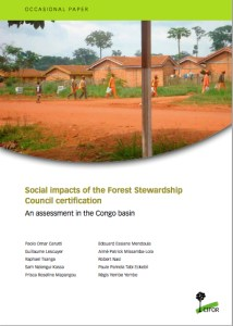 Social impacts of the Forest Stewardship Council certification: An assessment in the Congo basin