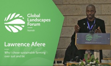 Lawrence Afere – Why I chose sustainable farming over suit and tie