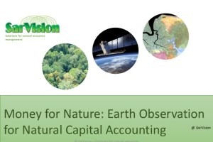 Money for Nature: Earth Observation for Natural Capital Accounting